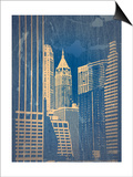 Manhattan 1 Print by  NaxArt