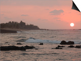 Big Island of Hawaii - Sunset from Beach Prints by Keith Levit