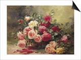 Roses Posters by Albert Tibule Furcy de Lavault