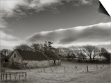 Old Unused Farm Near Ballyvooney, the Copper Coast, County Waterford, Ireland Prints