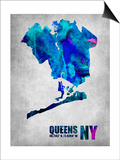 Queens New York Poster by  NaxArt