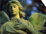 Angel of Mercy Statue Kunstdrucke von Robin Hill