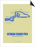German Grand Prix 2 Prints by  NaxArt