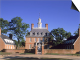 Governor's Palace, Williamsburg, VA Art by David Ball