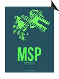 Msp Minneapolis Poster 2 Art by  NaxArt