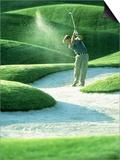 Golfing Print