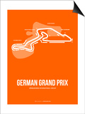 German Grand Prix 3 Posters by  NaxArt
