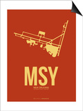 Msy New Orleans Poster 1 Prints by  NaxArt