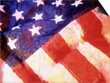American Flag Prints by Ellen Kamp