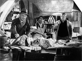 Jean Gabin, Bourvil and Louis De Funes: La Traversee De Paris, 1956 Prints by  Limot