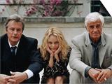 Jean-Paul Belmondo, Alain Delon, Vanessa Paradis: Une chance sur deux, 1998 Prints by Patrick Camboulive