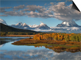 Wyoming, Grand Teton National Park, Snake River Posters by Bob Winsett