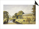 Trinity College at Cambridge University Prints by Bradford Rudge