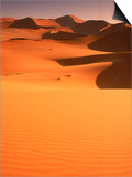 Sand Dunes, Namibia Poster by Peter Adams