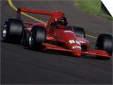 Formula Atlantic Racing Car Action Art