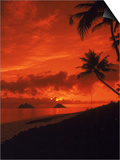Sunrise, Lanikai Oahu, Hawaii Posters by Cheyenne Rouse