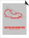 Australian Grand Prix 1 Prints by  NaxArt
