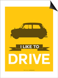 I Like to Drive Mini Cooper 1 Prints by  NaxArt