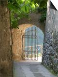 Gate of a Villa, Ravello, Salerno, Campania, Italy Posters