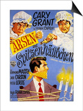 Arsenic and Old Lace, German Movie Poster, 1944 Prints