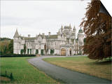 Balmoral Castle, Aberdeenshire, Highland Region, Scotland, United Kingdom Prints by  R H Productions