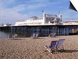 Palace Pier, Brighton, East Sussex, England, United Kingdom Prints by Walter Rawlings