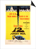 Twelve Angry Men, 1957 Poster