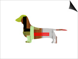 Dachshund Poster by  NaxArt