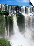 Iguassu Falls, Iguazu National Park, Unesco World Heritage Site, Argentina, South America Konst av Jane Sweeney