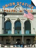 Union Train Station, Denver, Colorado, USA Posters by Ethel Davies