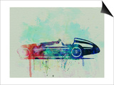 Alfa Romeo Tipo Watercolor Print by  NaxArt