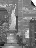 NY - Towers and Statue Prints by Jerry Driendl
