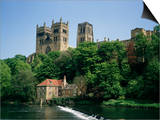 Durham Cathedral, Unesco World Heritage Site, Durham, County Durham, England, United Kingdom Prints by Charles Bowman