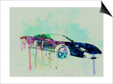 Ford Gt Watercolor 2 Posters by  NaxArt