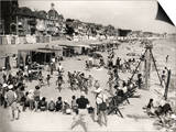 Holidays at La Baule, France (1937) Prints