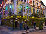 The Oliver St. John Gogarty Pub, Temple Bar, Dublin, County Dublin, Republic of Ireland (Eire) Posters by Sergio Pitamitz