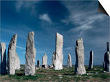 Standing Stones, Callanish, Isle of Lewis, Outer Hebrides, Scotland, United Kingdom Prints by Adam Woolfitt