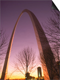 Gateway Arch and Skyline of St. Louis, Missouri Posters by Russell Dohrmann