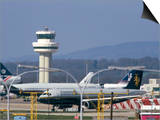 Gatwick Airport, Sussex, England, United Kingdom Print by John Miller