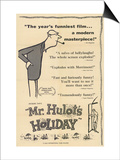 Mr. Hulot's Holiday, 1953 Poster