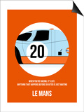 Le Mans Poster 1 Poster by Anna Malkin