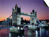 Tower Bridge, London, England, United Kingdom Prints by Adina Tovy