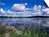 Summer, Lake at Ramen, North of Filipstad, Eastern Varmland, Sweden, Scandinavia Prints by Richard Ashworth