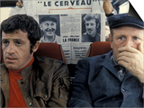 Jean-Paul Belmondo and Bourvil: Le Cerveau, 1969 Prints by Marcel Dole