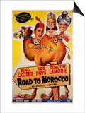 Road to Morocco, 1942 Art
