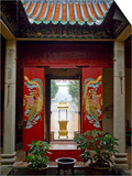 Tin Hau Temple, Stanley, Hong Kong, China Posters by Charles Bowman