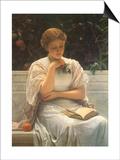 Orangery Poster by Charles Edward Perugini