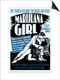 Marijuana Girl, 1969 Poster