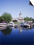 City Hall and Marina, Kingston Ontario, Canada Prints by Mark Gibson