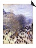 Boulevard Des Capucines, 1873 Prints by Claude Monet
